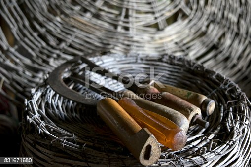 istock old agrarian tools 831671680