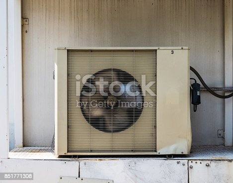 947099530 istock photo Old Air condition compressor cooling machine 851771308