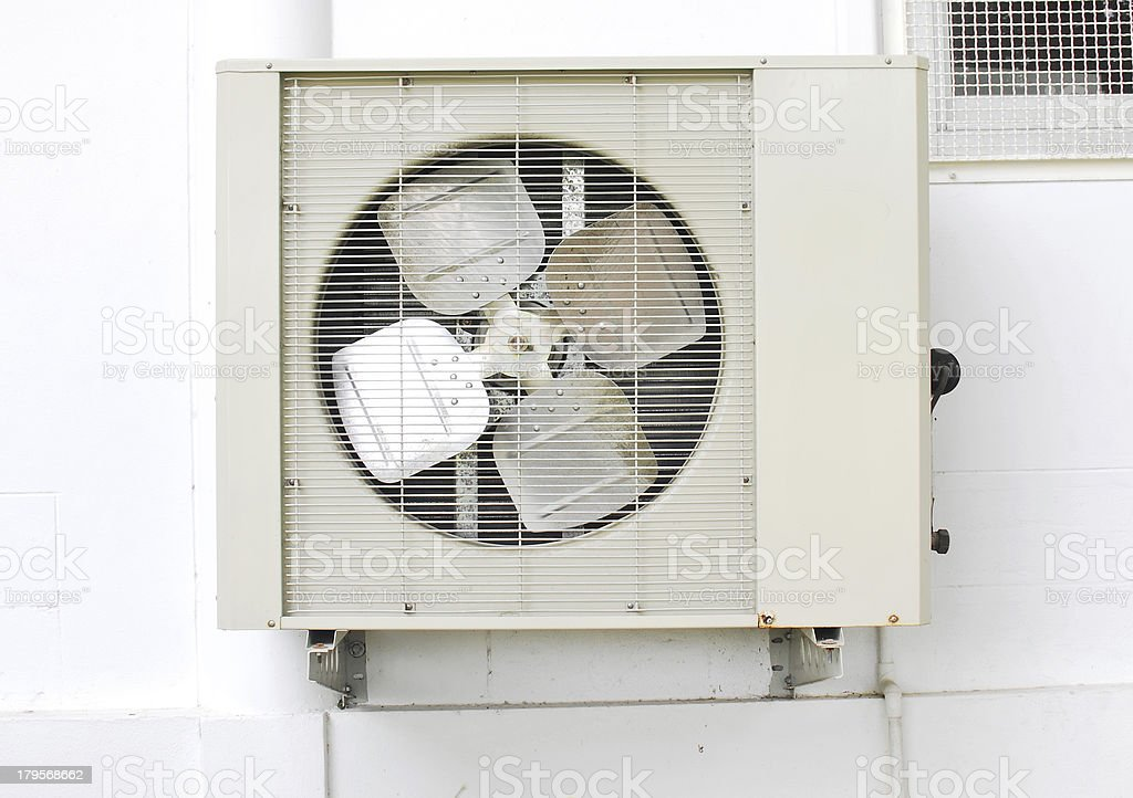 Old air condition royalty-free stock photo