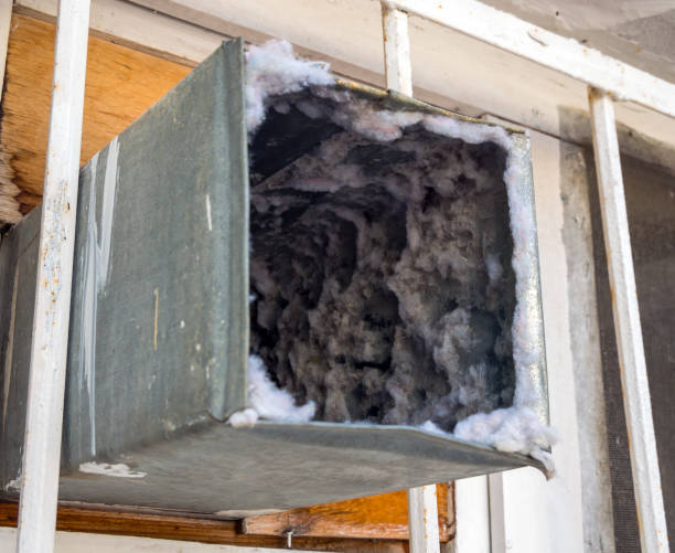 Old air duct filled with dust and dirt Old air duct filled with dust and dirt air duct stock pictures, royalty-free photos & images