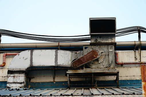 Fumes ventilation system