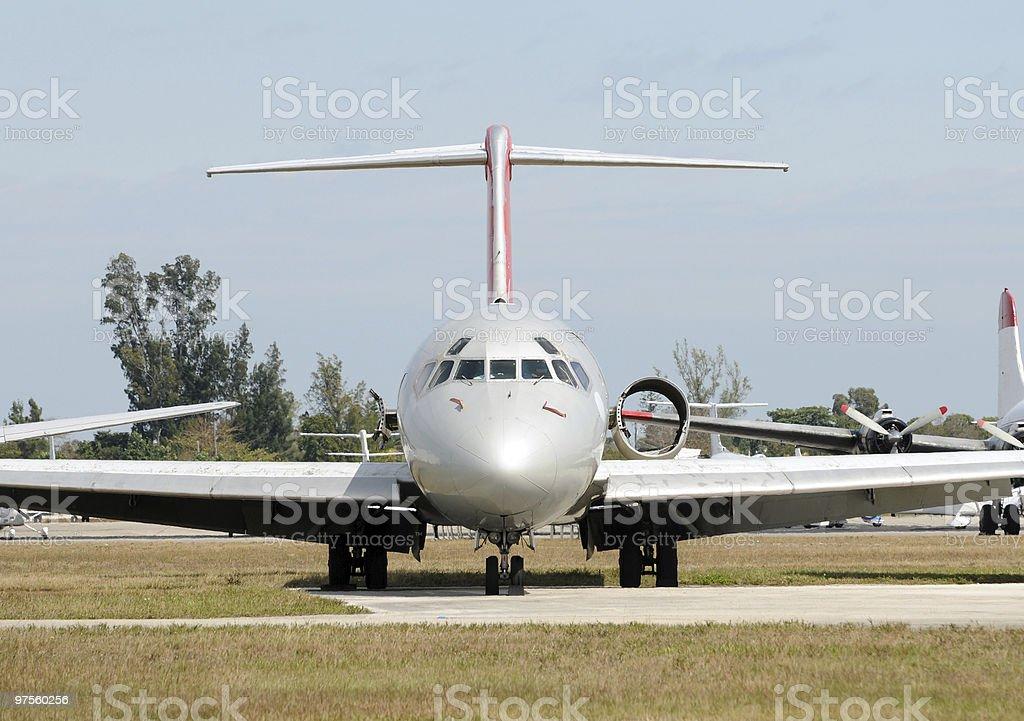 Old avion photo libre de droits