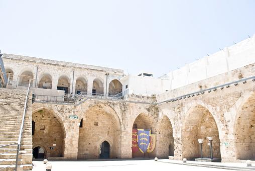 istock Old AKKO Visitors' Center, Acre, Israel 957876734