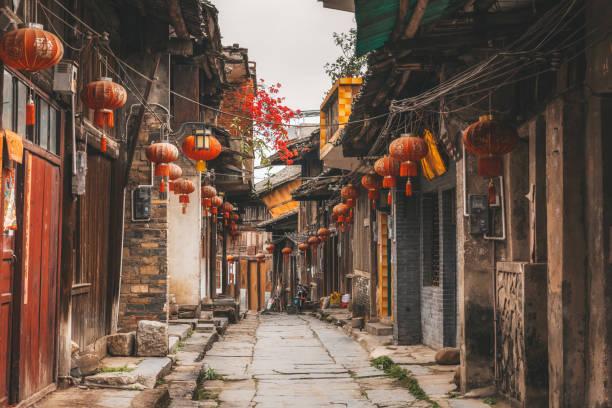 alte Gasse in Daxu alte Stadt Guilin – Foto