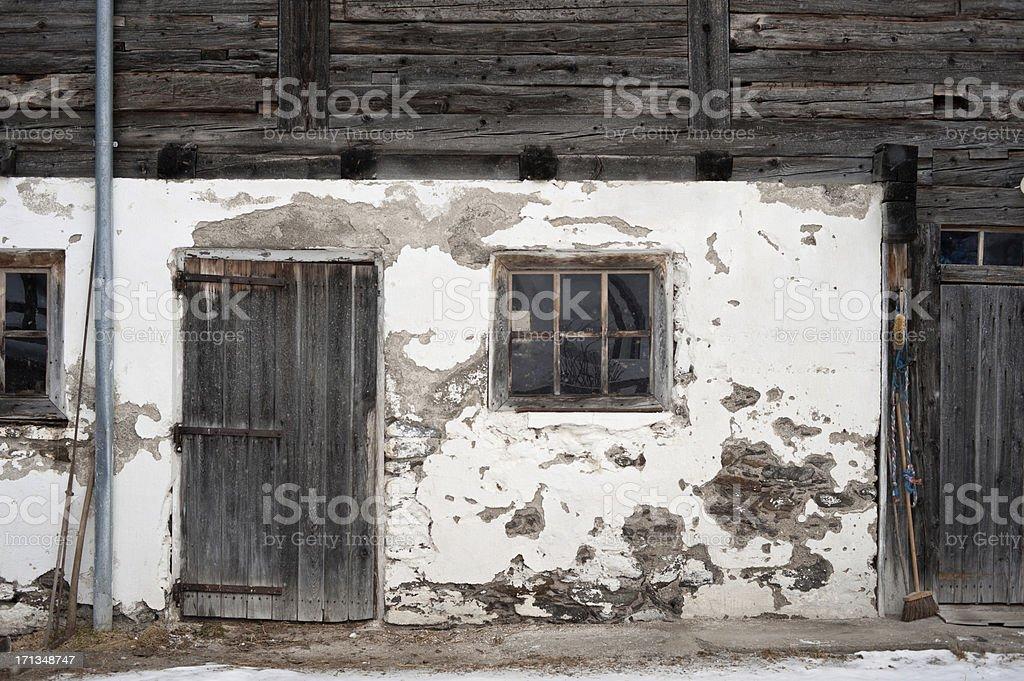Old Alpine stabile Fassade – Foto