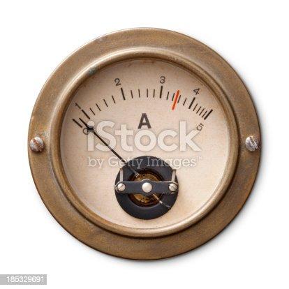 Old ammeter.