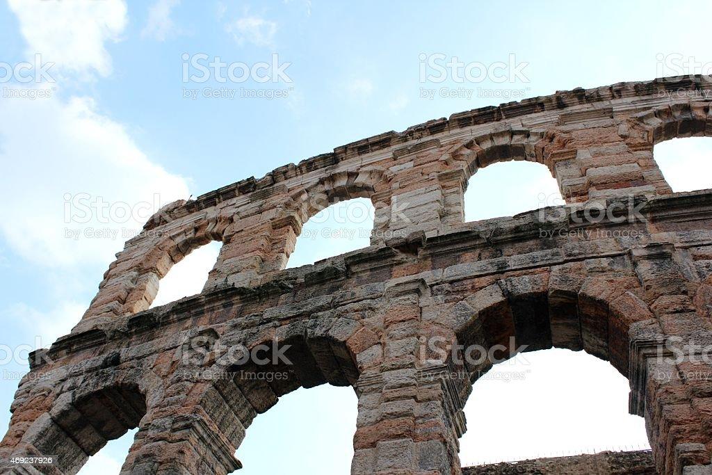 Old amphitheater in Verona – Foto