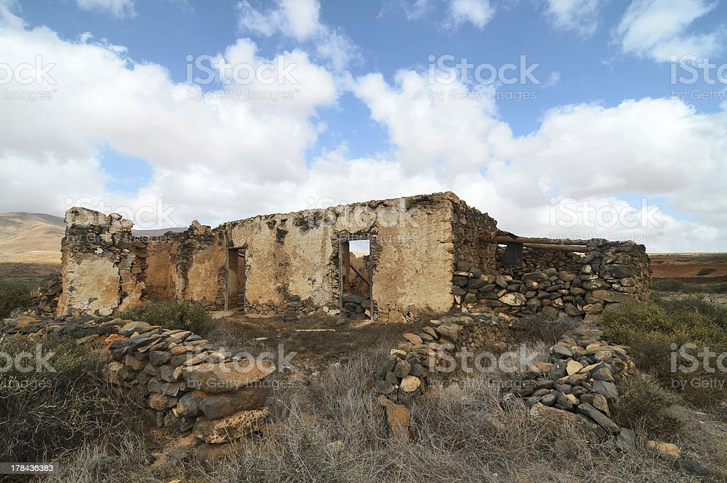 Old ancient building royalty-free stock photo