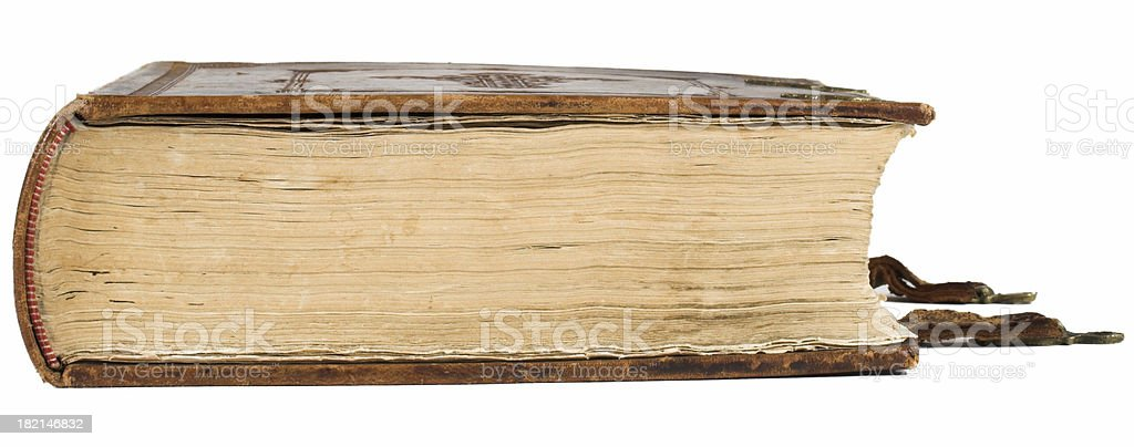 Old and big bible royalty-free stock photo