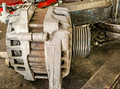 istock old and dusty and rusty vehicle parts at car maintenance workshop 1159468352