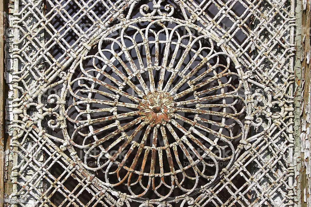 Old and Dusty Decoration Pattern royalty-free stock photo