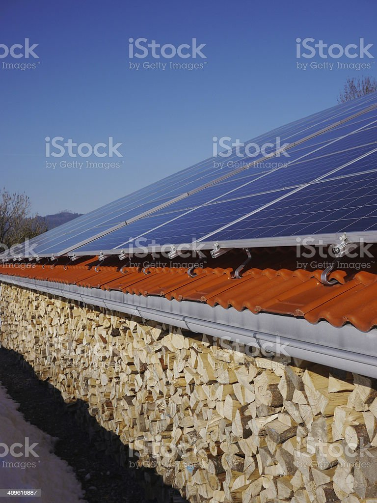 Old and New Energy royalty-free stock photo