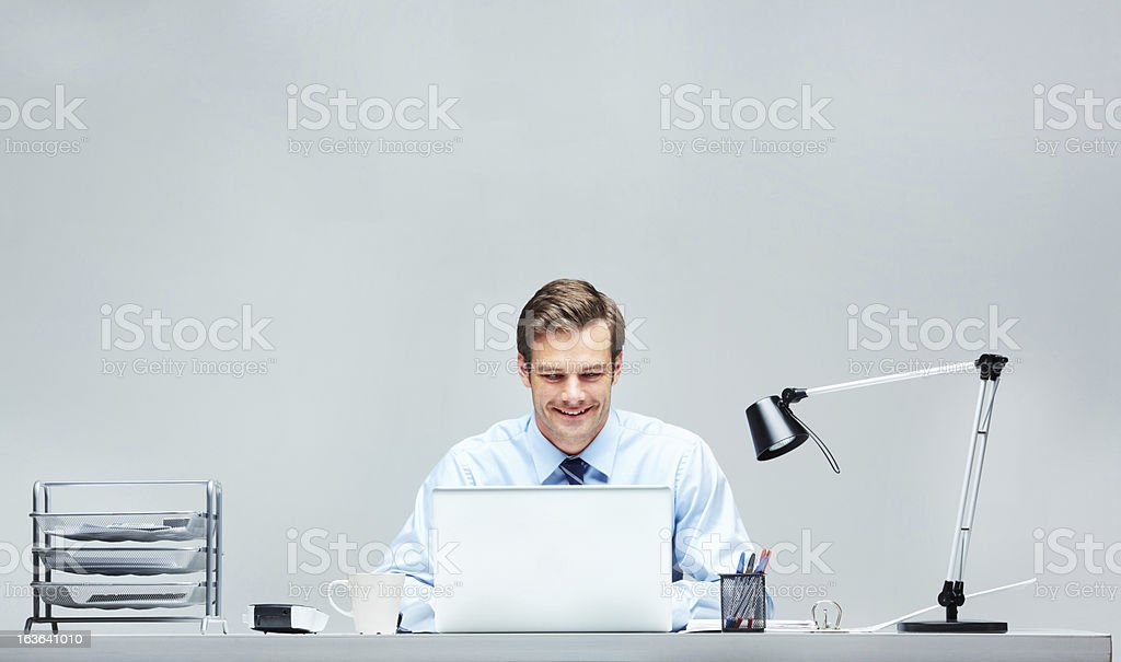 Old and new school desktops! royalty-free stock photo