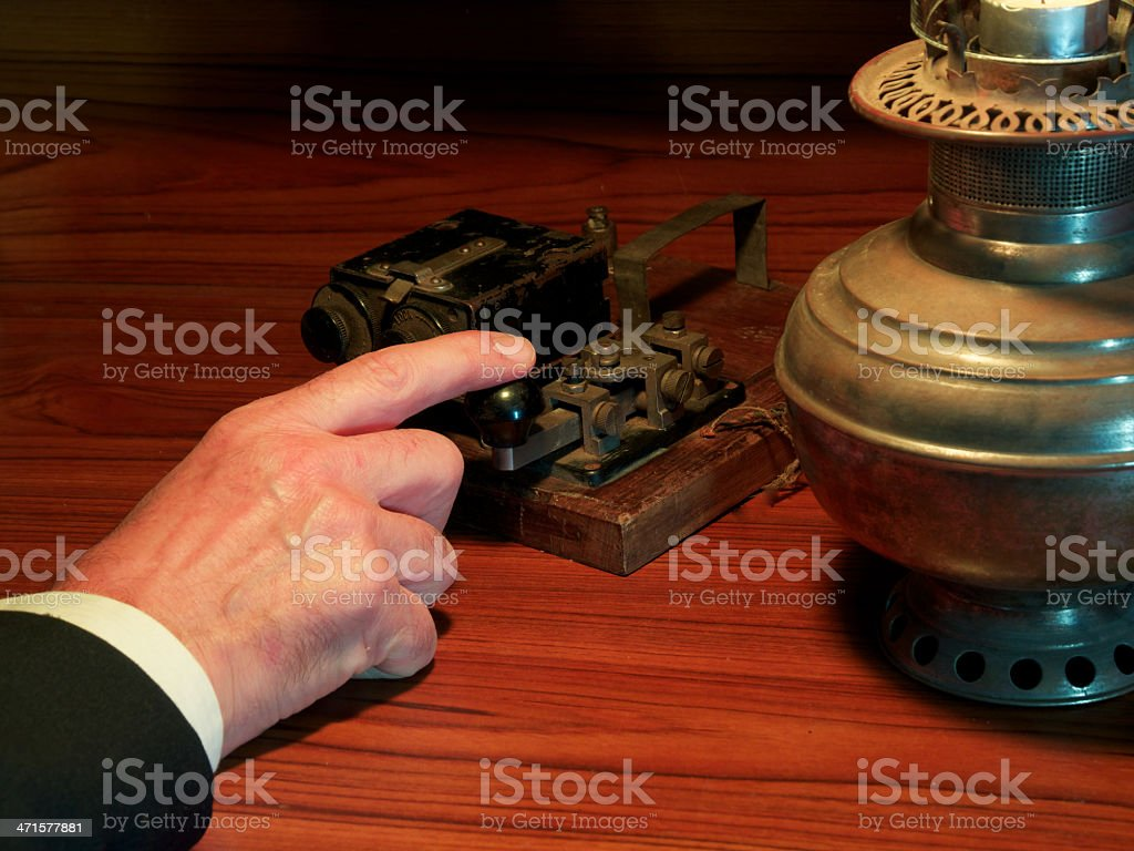 Old and reliable, but a little slow. stock photo
