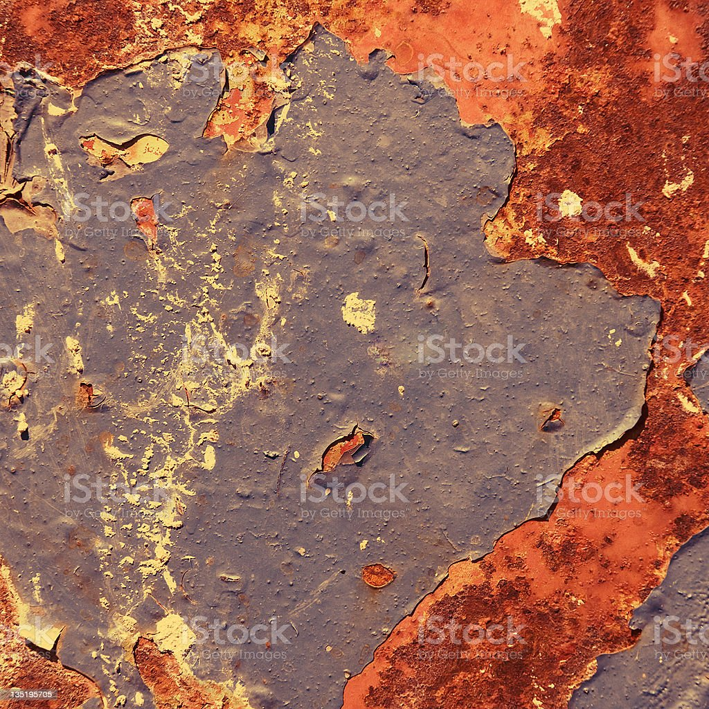 old and rusted metal royalty-free stock photo