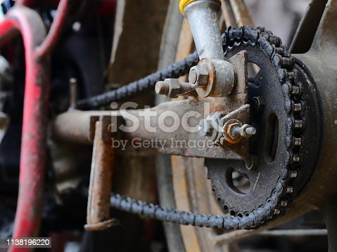 Chain - Object, Engine, Gear, Iron - Metal, Land Vehicle