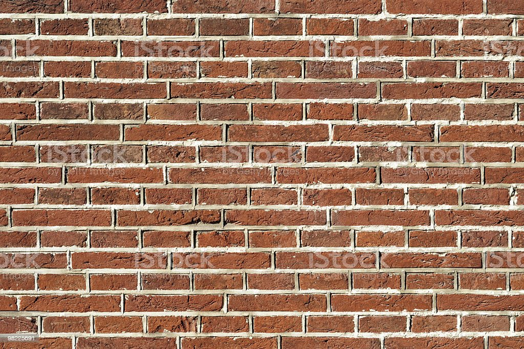 Vecchio muro di mattoni e invecchiato foto stock royalty-free