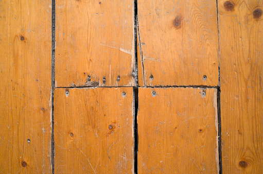 Old And Worn Victorian Wooden Floorboards Stock Photo Download