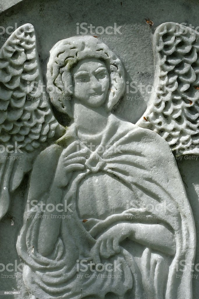 Old Angel royalty-free stock photo