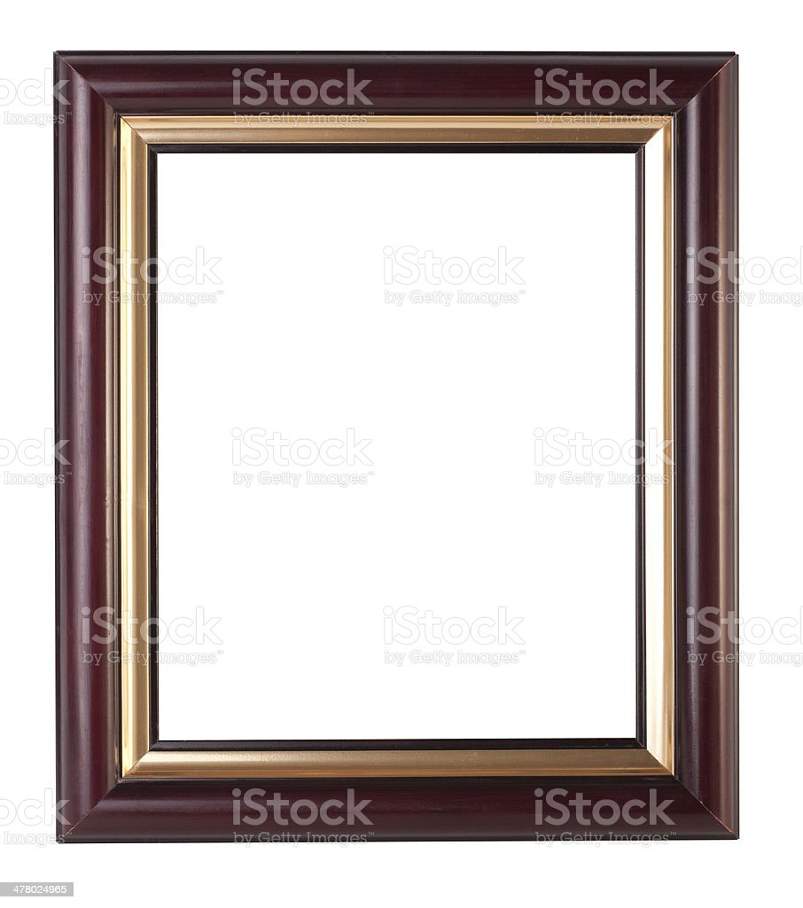 old antique frame royalty-free stock photo