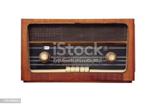 istock old antique radio 140469504