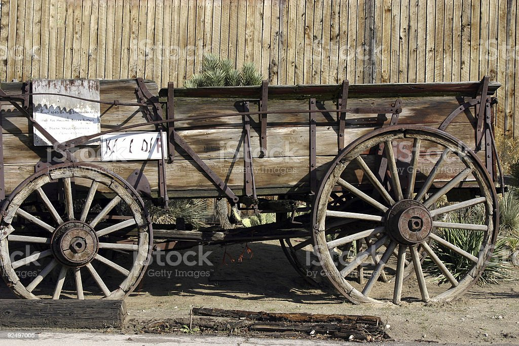 Old Antique Wagon royalty-free stock photo