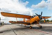Old Antonov Aircraft