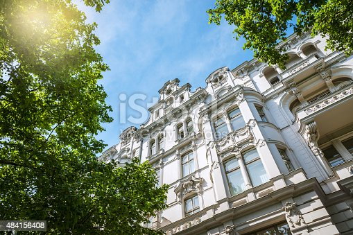 istock old Apartment House in Berlin 484156408