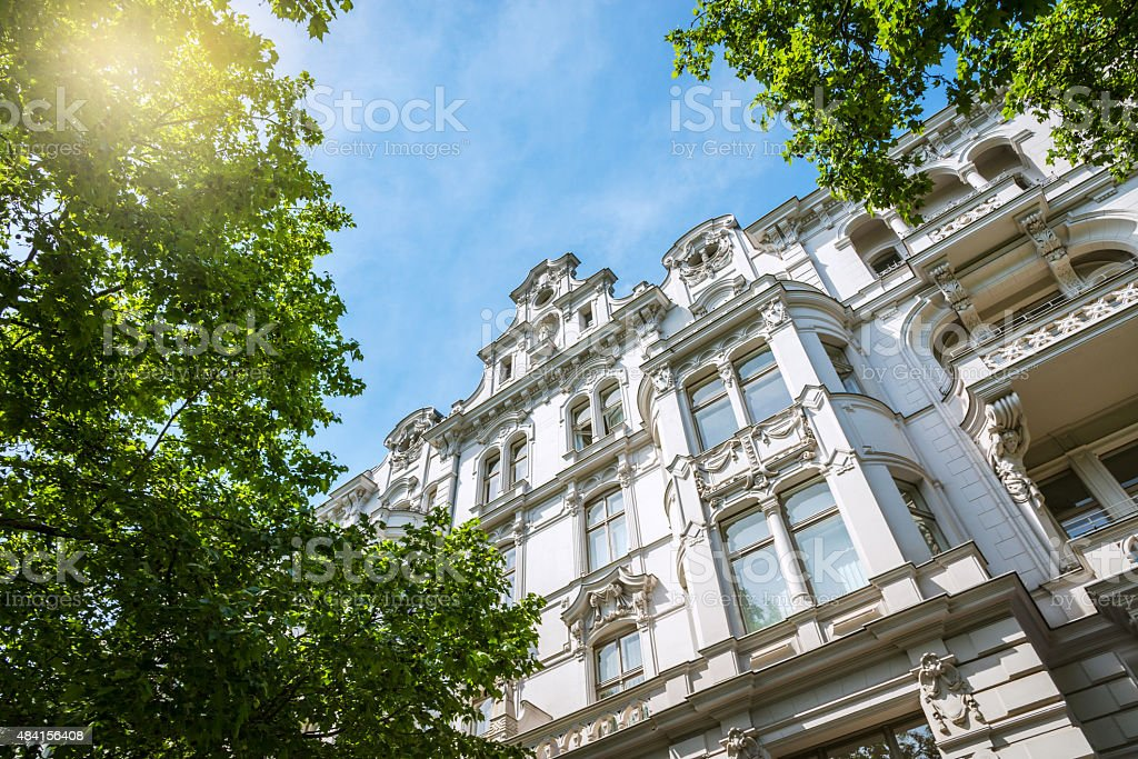 old Apartment House in Berlin stock photo