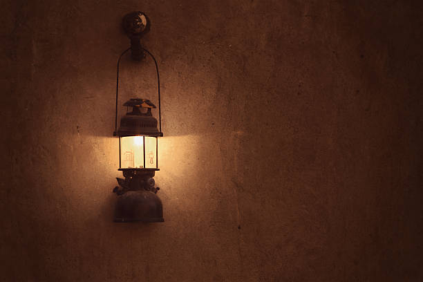 Old arabic lamp on the wall Old arabic lamp taken in Dubai arabic style stock pictures, royalty-free photos & images