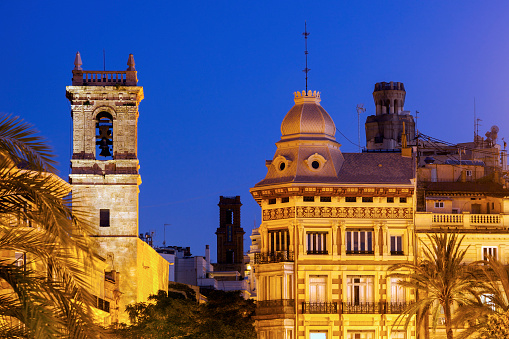 Old architecture of Valencia