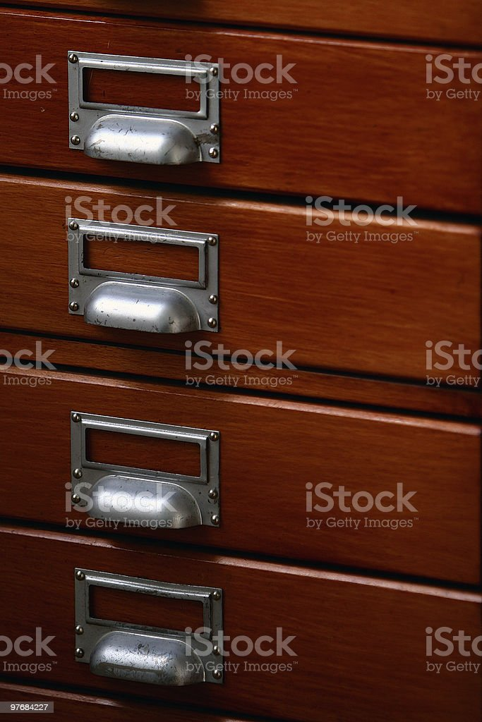old archive closet royalty-free stock photo