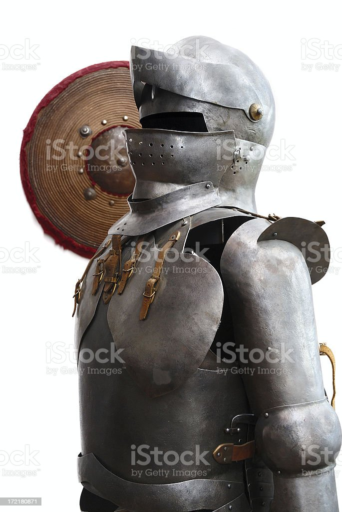 Old armour royalty-free stock photo
