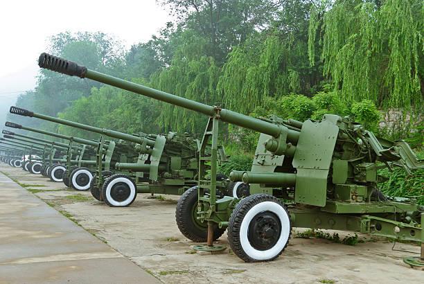 old artillery - chinese military bildbanksfoton och bilder