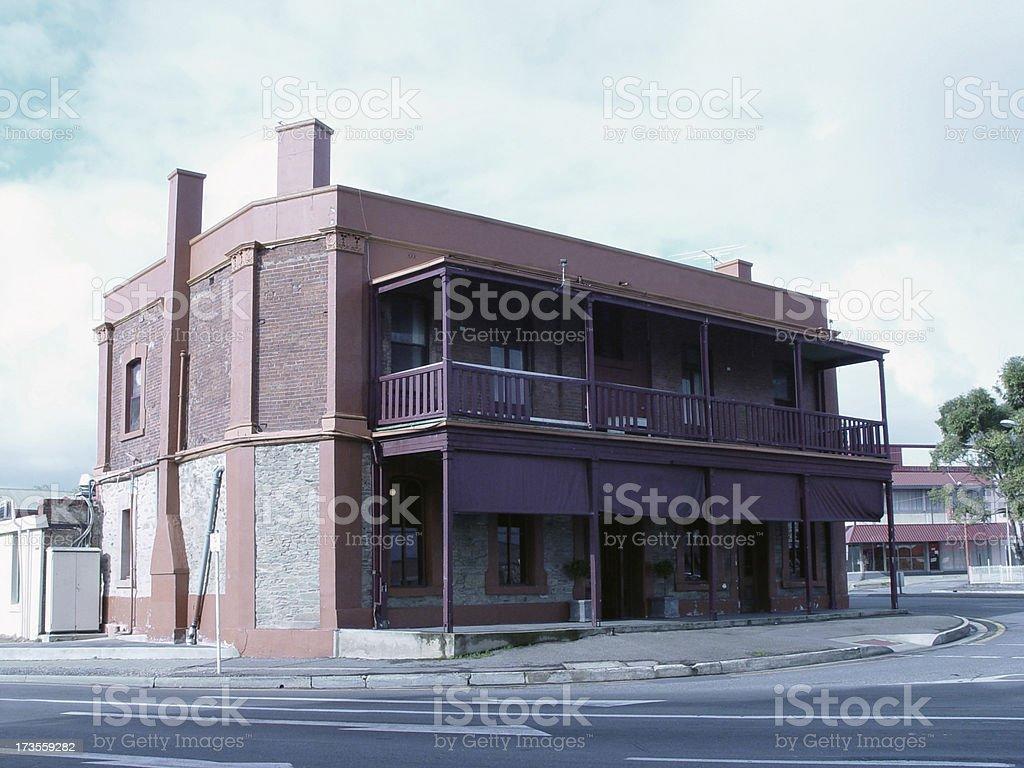 Old Aussie pub stock photo