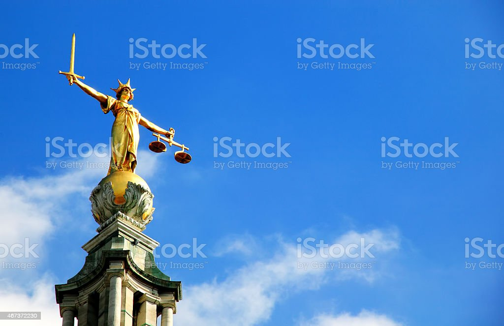 Old Bailey - foto de stock