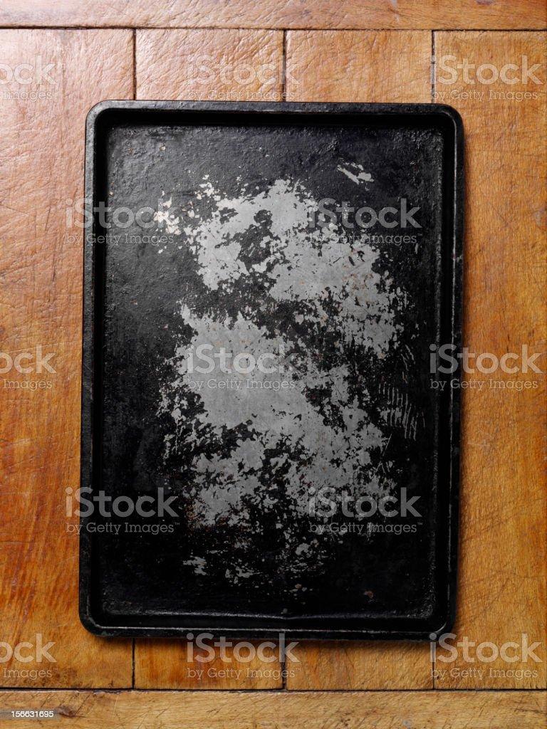 Old Baking tray royalty-free stock photo