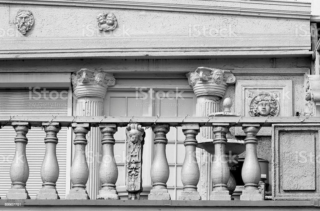 Old Balastrude royalty free stockfoto