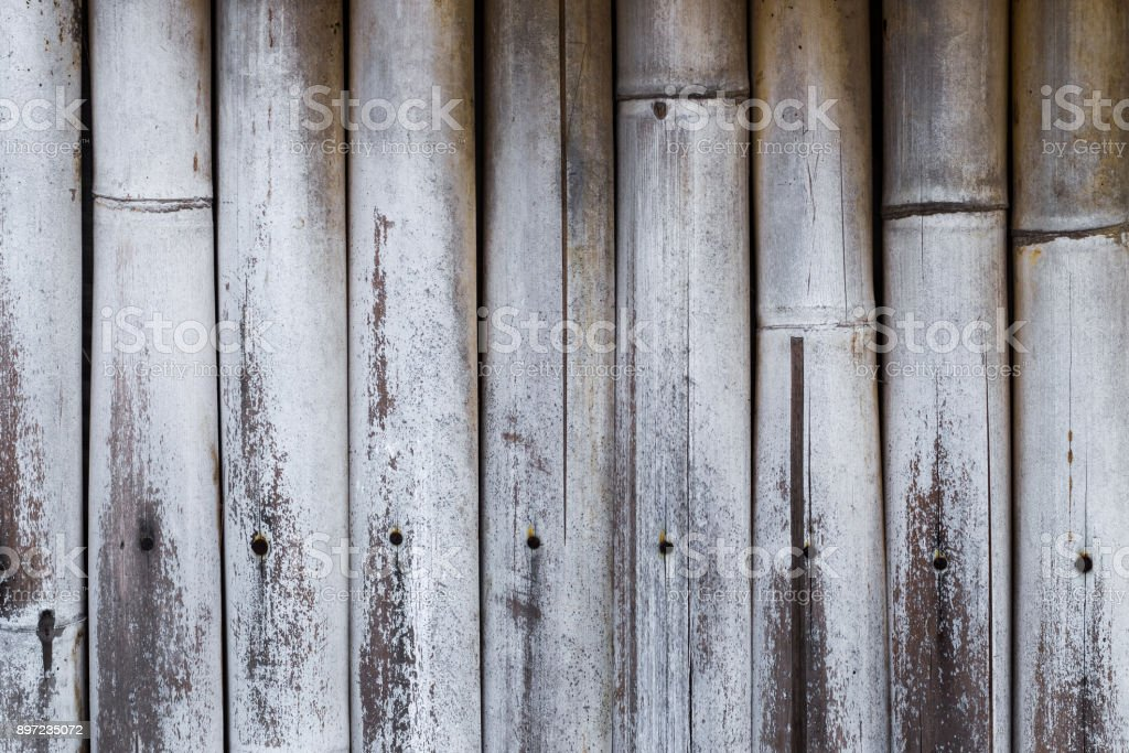 Old bamboo texture background stock photo