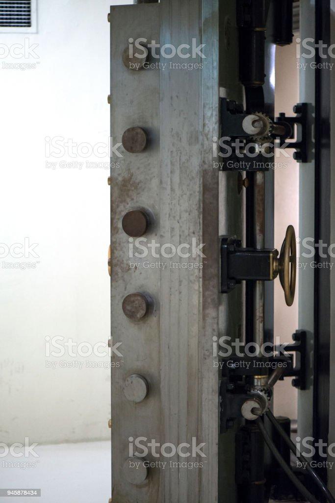 Old Bank Vault стоковое фото
