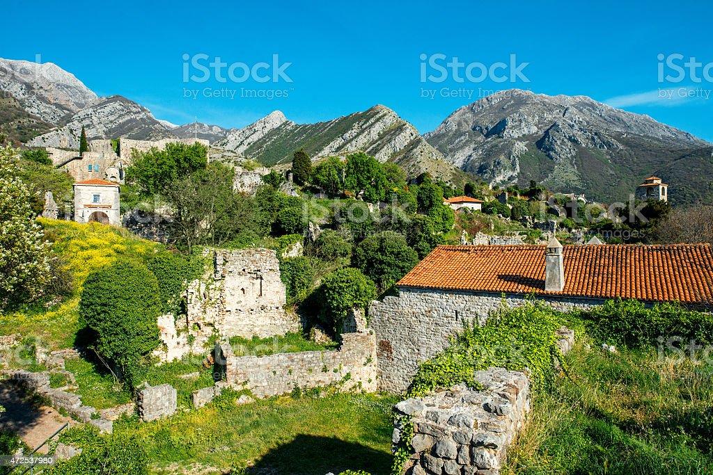 Old Bar, Montenegro - foto de stock