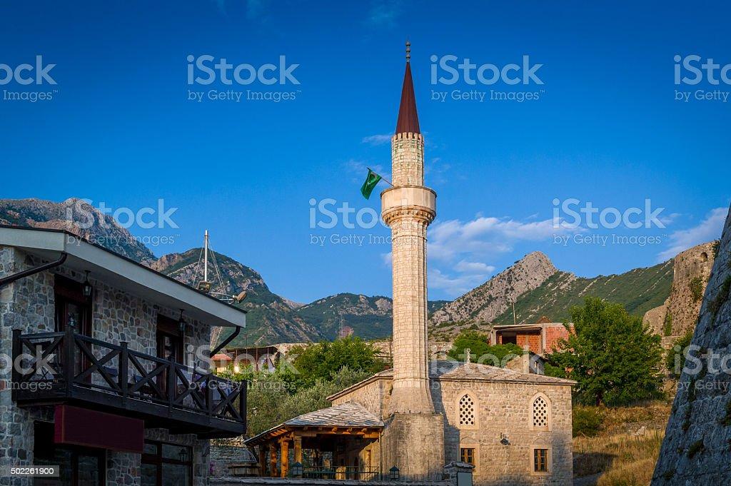 Antigua ciudad pequeña piedra mezquita Bar - foto de stock