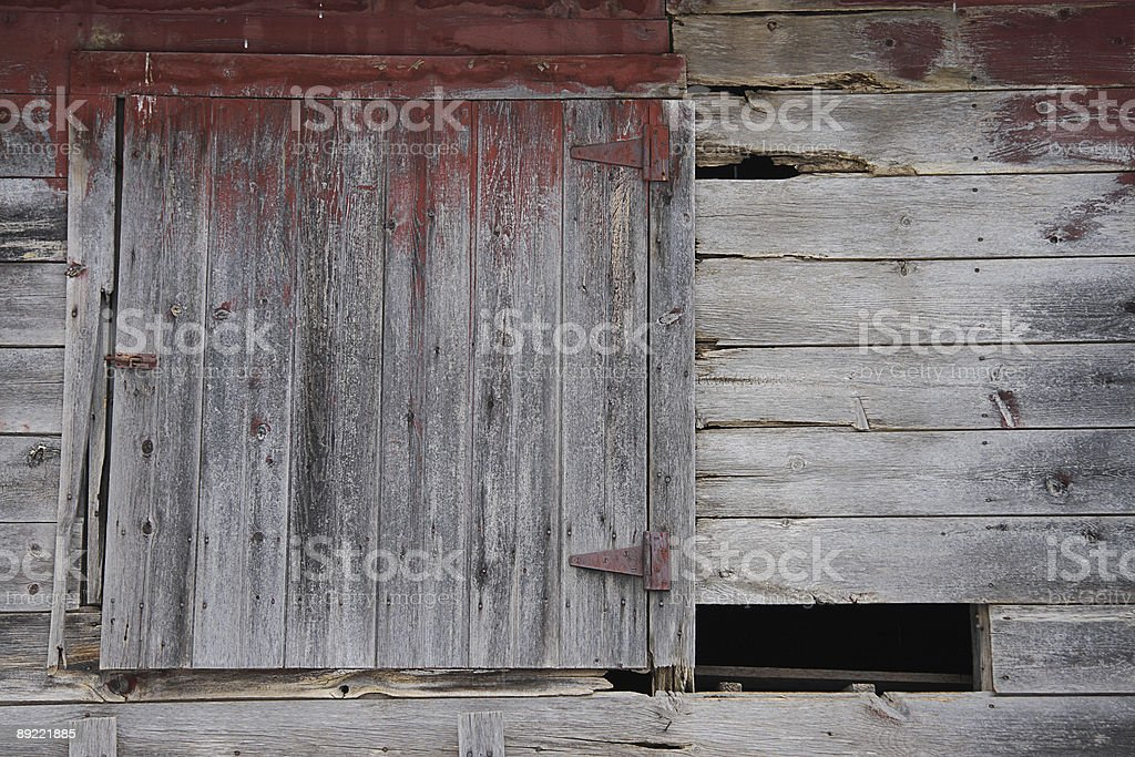 Old Barn Hatch royalty-free stock photo