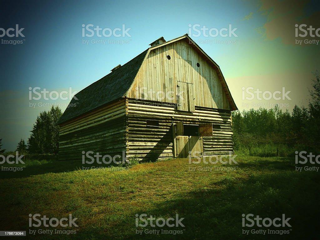Old Barn foto foto de stock libre de derechos