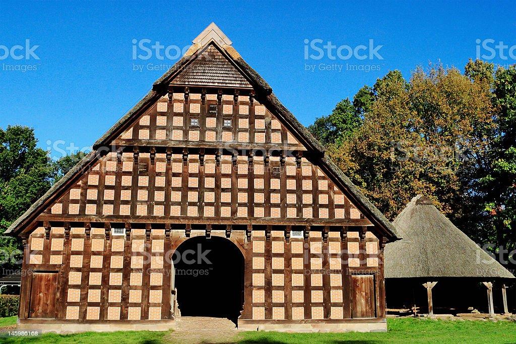 Old barn. royalty-free stock photo