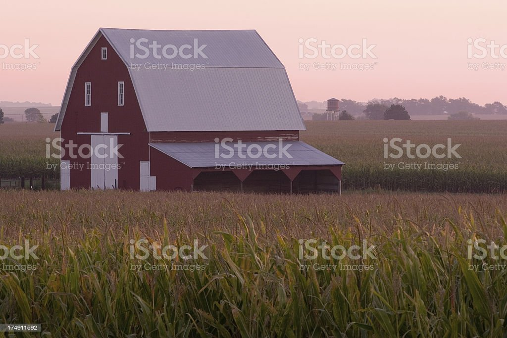 Old Barn royalty-free stock photo