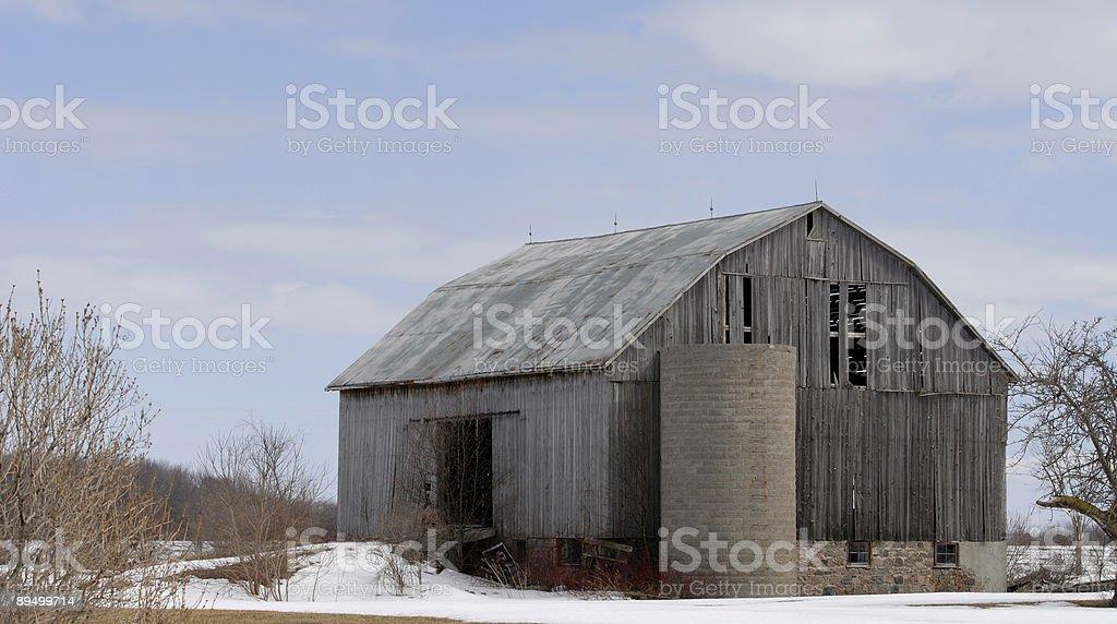 Old barn royalty free stockfoto