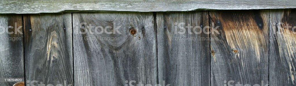 Old Barnwood Wall royalty-free stock photo