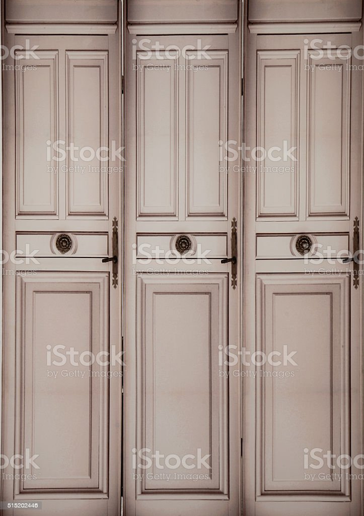 old baroc doors - background stock photo