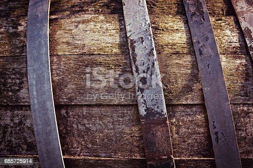 istock Old Barrel 685725914